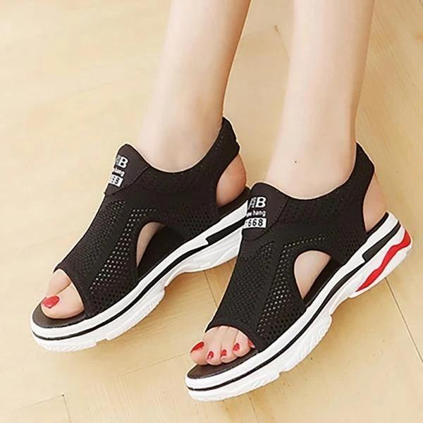 Women Fabric Sandals Casual Comfort Athletic Shoes