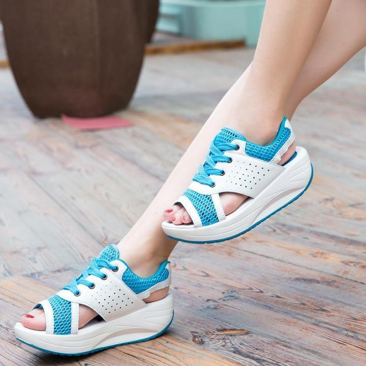 Women Shoes Summer Thick Bottom Fashion Sandals