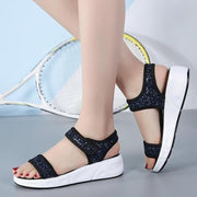 Women Sandals Simple Sports Leisure Wedge Beach Shoes
