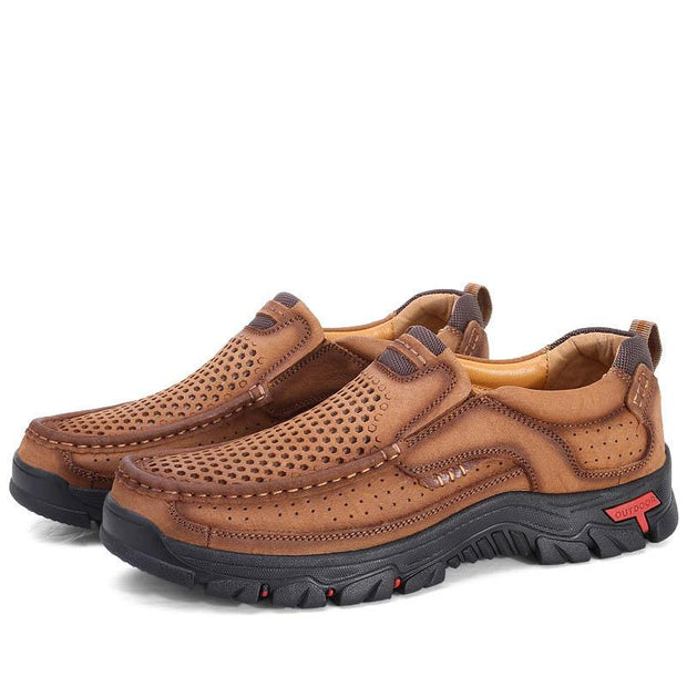 Men Casual Outdoor Handmade Leather Shoes