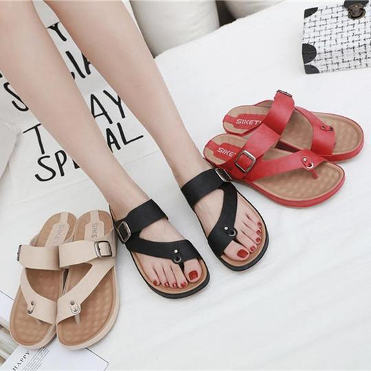 Women Summer Slippers Women Casual Massage Durable Flip Flops Beach Sandals Female Wedge Shoes Lady Room platform Slippers