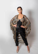 Load image into Gallery viewer, Dalia jacket black/tan