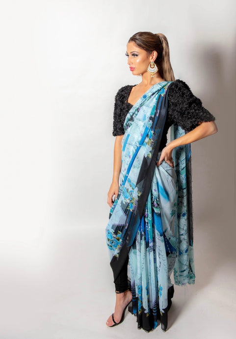 Aisha - Loose Stitch Saree