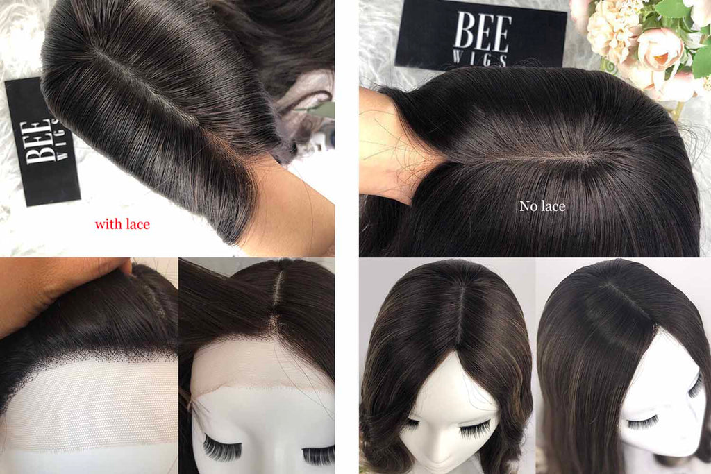 the difference of lace front wig and silk top wig