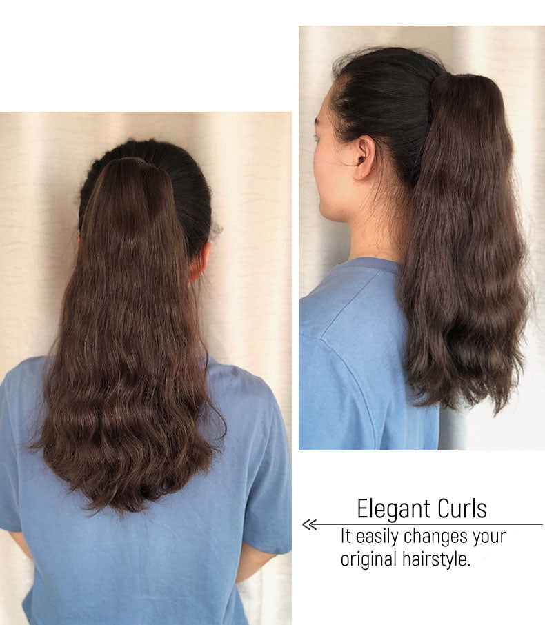 ponytail-extension-model-show