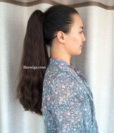 Natural Hair Ponytail Invisible Ponytail Hair Extensions