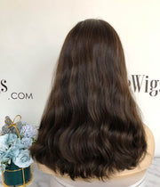 Invisible HD Lace Wig Lace Top Curly Sheitel Jewish Wig