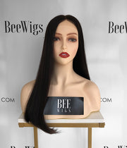 21 inches Black Color Wigs Best Brazilian Hair