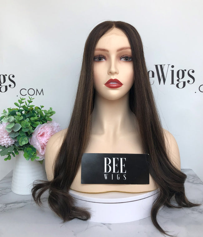 The Best Brazilian Hair with Highlights Transparent Lace Top Wig