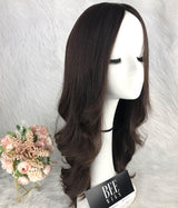 Long Wavy Wig Brazilian Hair Wigs With Layers