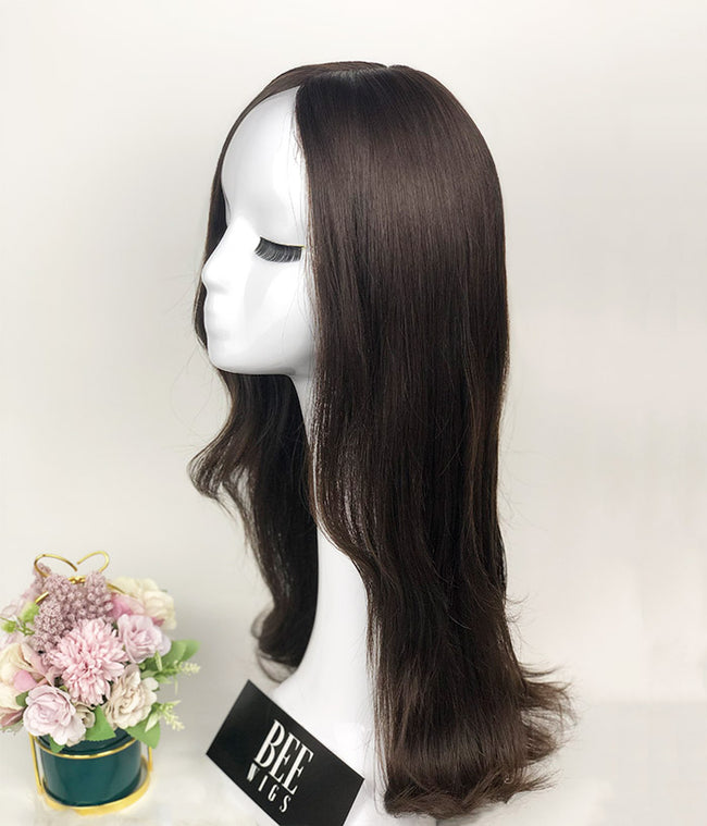Handmade Wigs Natural Wave Human Hair Wig