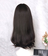 Best Silk Top Lace Wigs Brazilian Wave Hair Silk Top Wig Attached Lace In Front