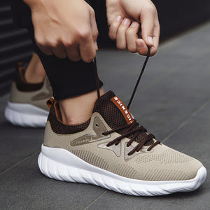 Mens Sneakers Lace-Up All Season Sneakers