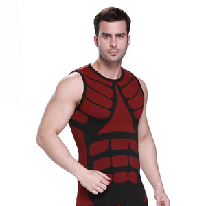 Men's Sports Quick-drying Vest Two-color Training Underwear