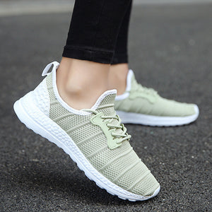 Mens Sneakers Breathable Mesh Sport sneakers Lace Up casual Shoes