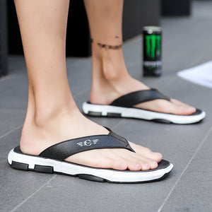 Men's High Quality Flat Heel PVC Sandal