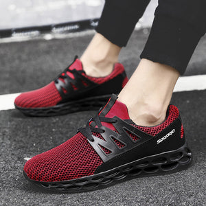 Large Size Mens Sneakers Breathable Lace Up Sport sneakers