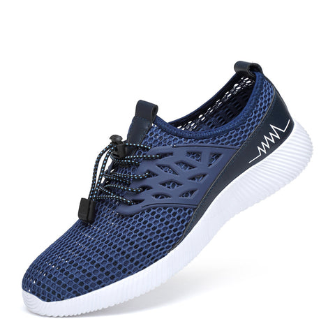Breathable Sports Comfortable Flat Heel Spring/Fall Mesh Athletic Sneakers