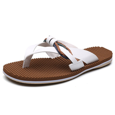 Men Stylish Super Soft Flip Flops Beach Water Garden Slippers
