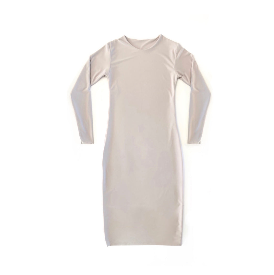 THE L/S BOD BODYCON