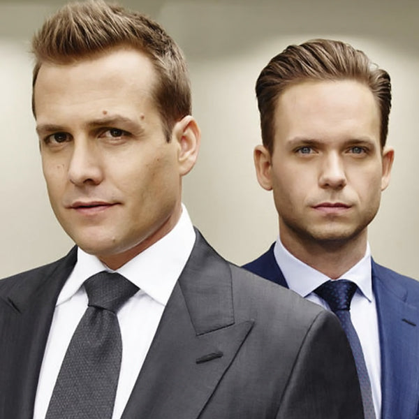 Harvey Specter and Mike Ross (Suits)