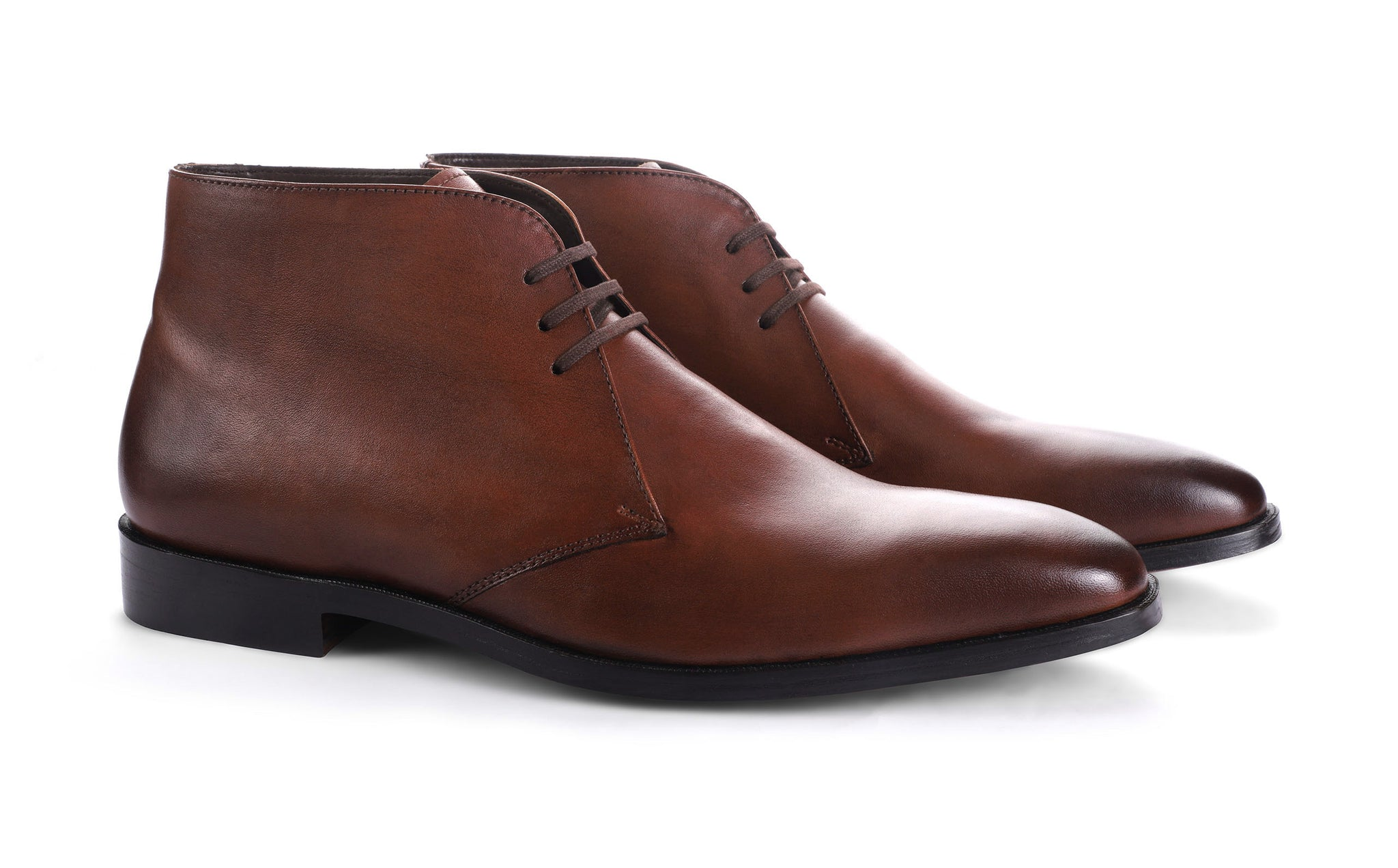 Leather chukka boots india