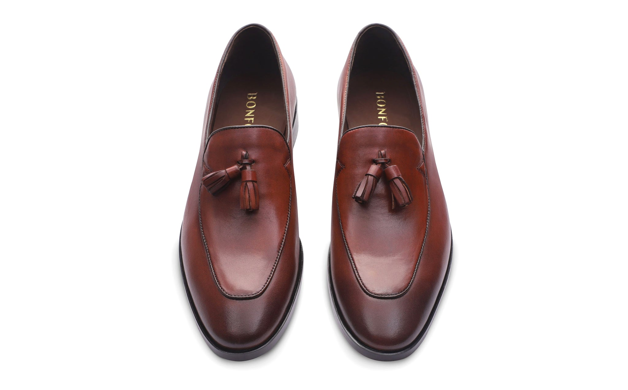 light tan leather loafer shoes for men