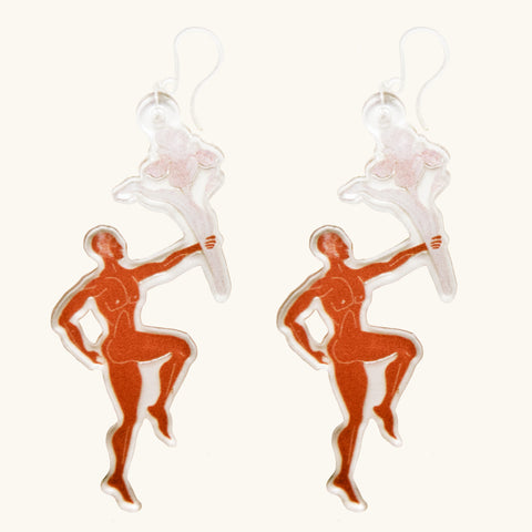 Boys Will be Boys Earrings