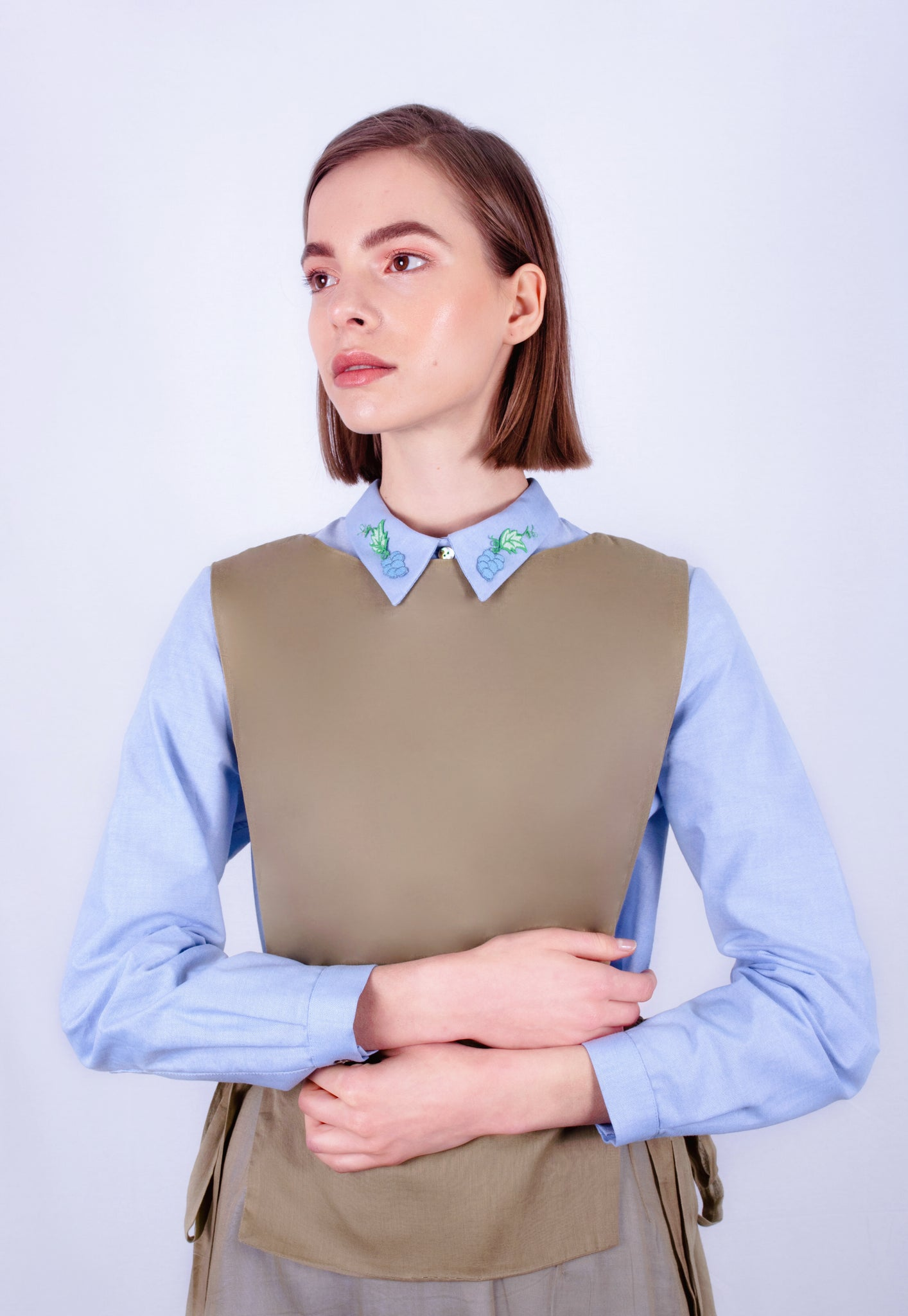 Grapes of Dionysus Oxford Shirt