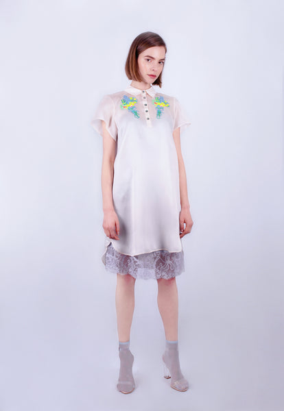 Bouquet Smock Dress
