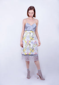 Octopus Bouquet Pencil Skirt