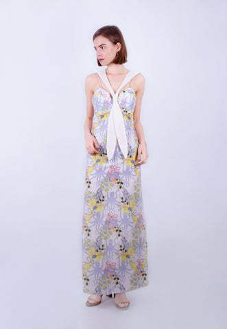 Octopus Bouquet Bustier Dress