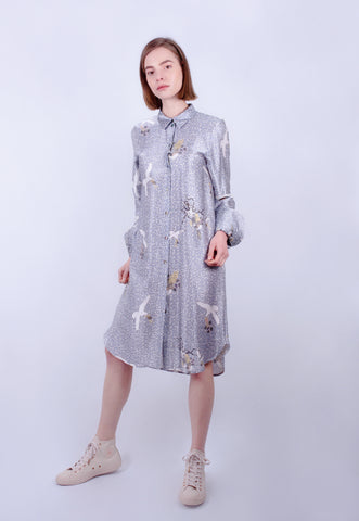 Pearl Diver Shirt dress