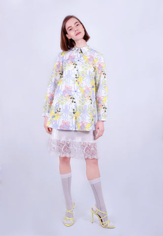 Octopus Bouquet Oxford Shirt