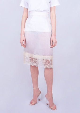 Aphrodite Foam Lace Skirt