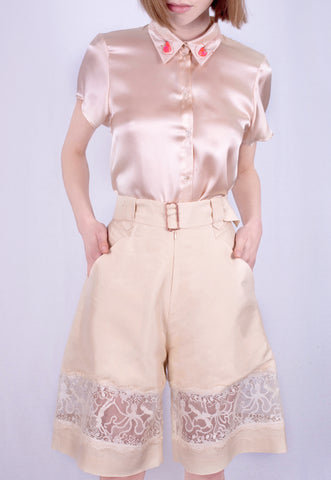 Sand Castle Lace Shorts