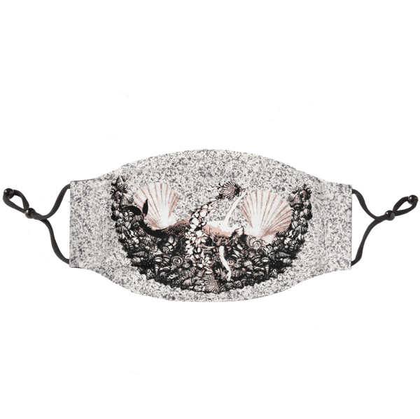Sand dollar Siren Luxury Mask
