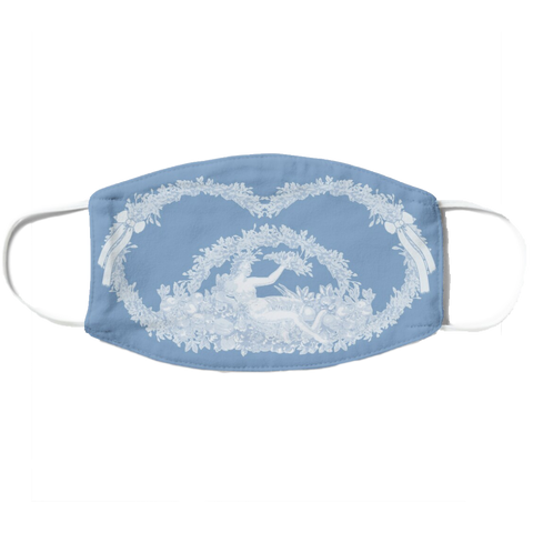 Forbidden Fruit Mask Wedgwood Blue