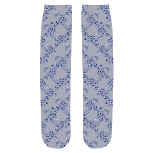 Dove Blue Tea Party Socks