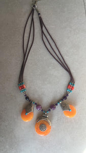 Necklaces Orange