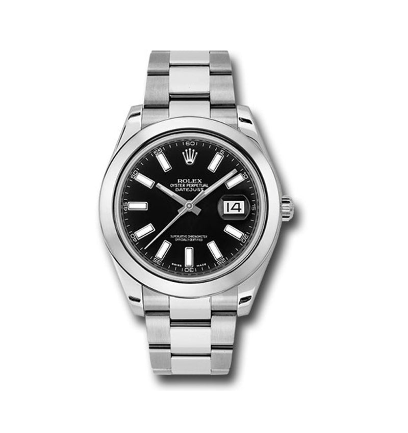 Datejust II 41mm Ref: 116300 bkio