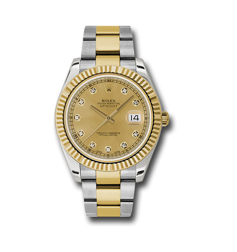 Datejust II 41mm Ref: 116333 chdo