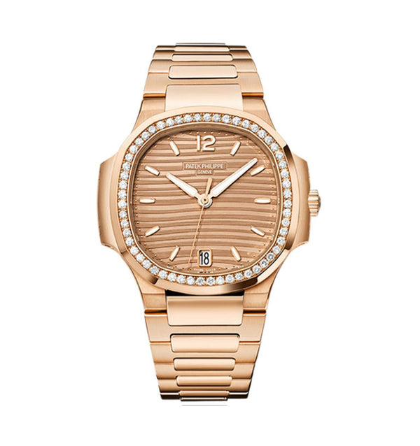 Nautilus Ladies Rose Gold Ref: 7010/1R-012