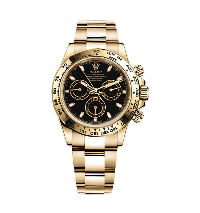 Daytona Yellow Gold Ref: 116508 bki
