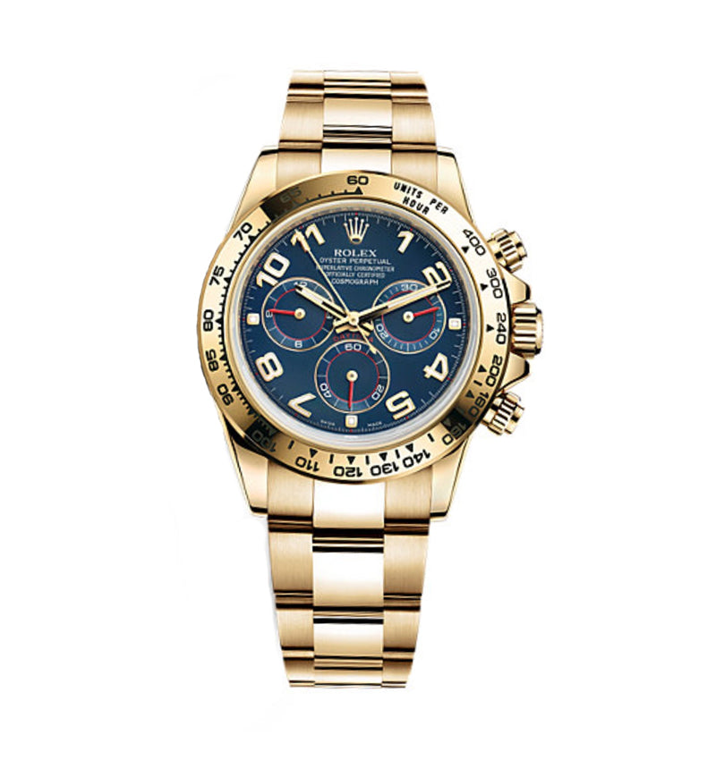 Daytona Yellow Gold Ref: 116508 bla