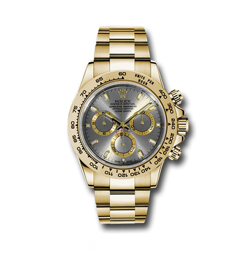 Daytona Yellow Gold Ref: 116508 sti