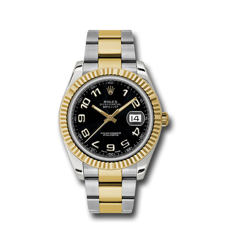 Datejust II 41mm Ref: 116333 bkao