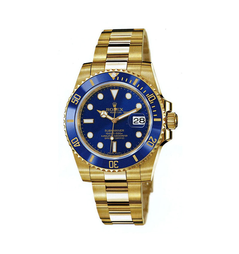 Submariner Gold Ref: 116618 bld