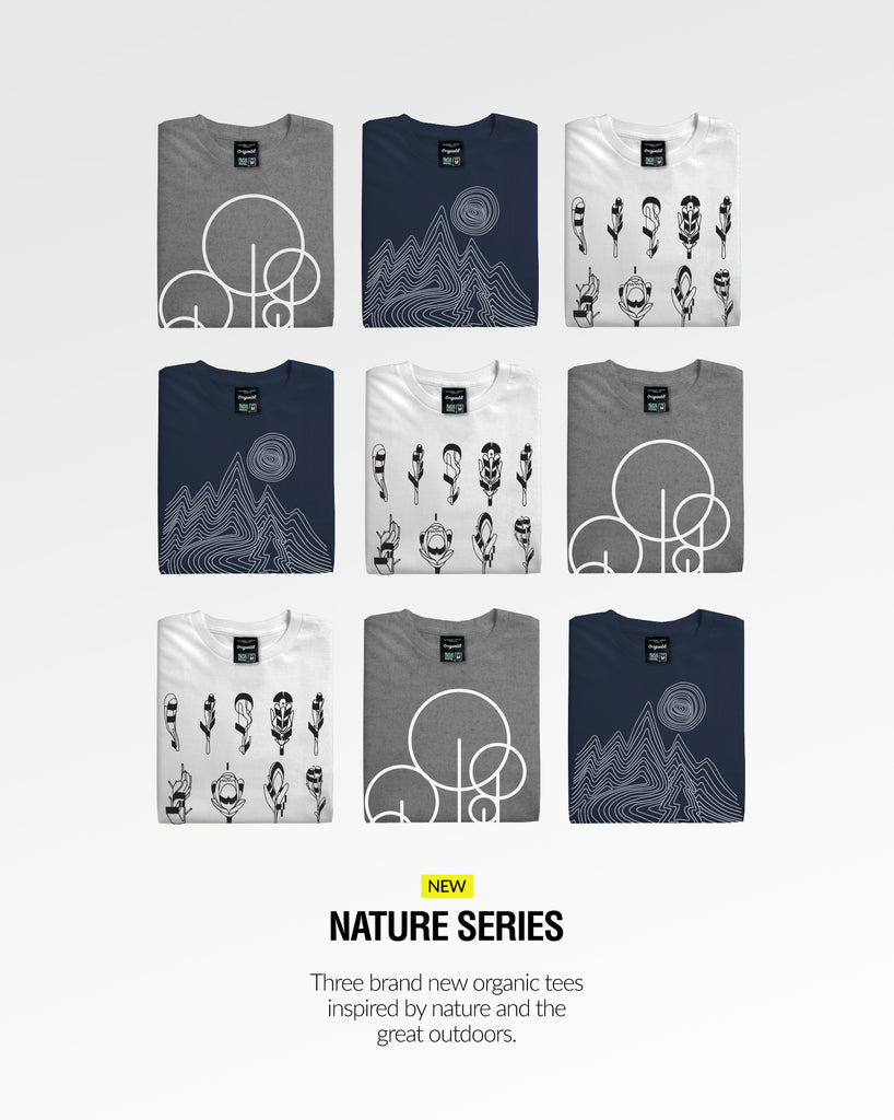nature series t-shirts by Origin68