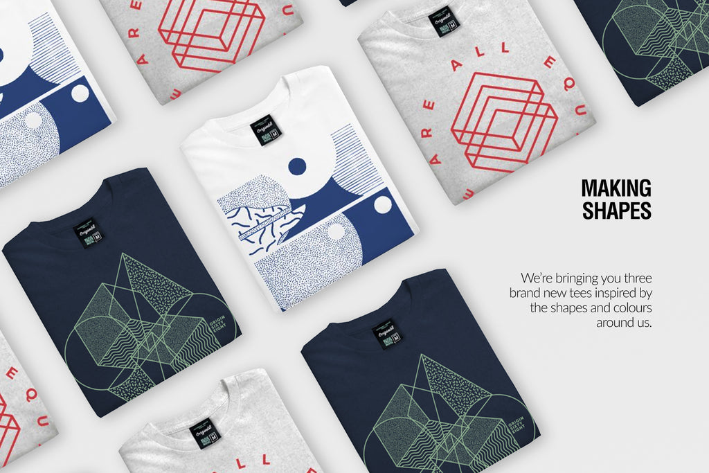 Shapes sewries tshirts